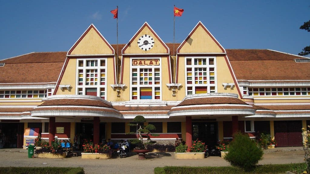 Dalat Railway Station is the one of the finest piece of colonial architecture in Vietnam.