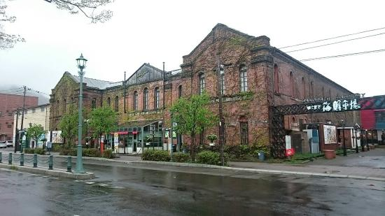 Meijikan is a shopping mall created from the original Hakodate post office Building in 1911.
