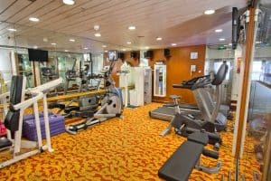star pisces cruise gym